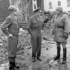 george, patton, eisenhower