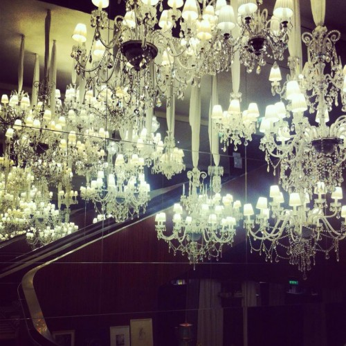 royal monceau, hermann schurig, chandelier, lustre