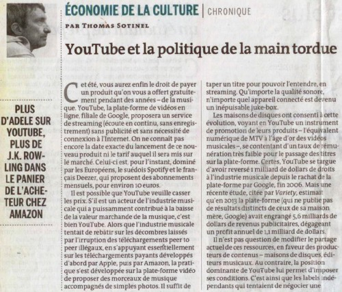 youtube, musique