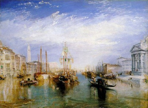 le grand canal de Venise, William Turner