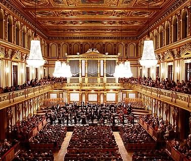 Musikverein,Vienne, salle,dorée