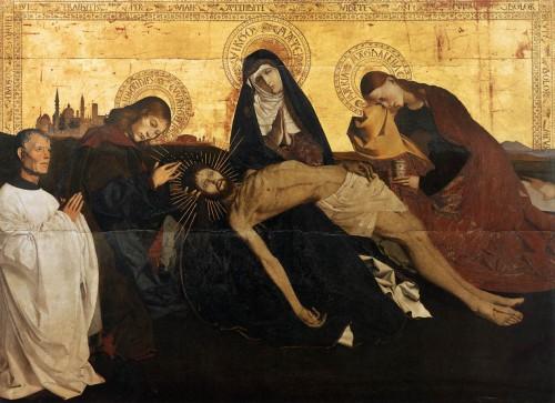 Pietà de Villeneuve-lès-Avignon, Enguerrand Charonton