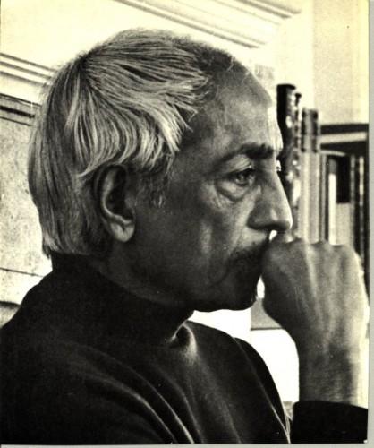 krishnamurti, silence, jiddu