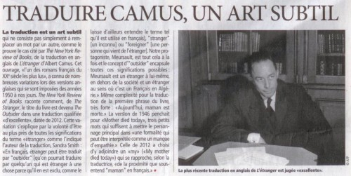 traduction, camus