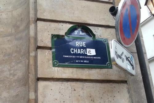 ana charlie, je suis charlie, charlie hebdo, manif, janvier, paris
