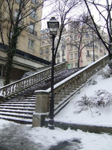 jardin de passy, avenue Marcel Proust