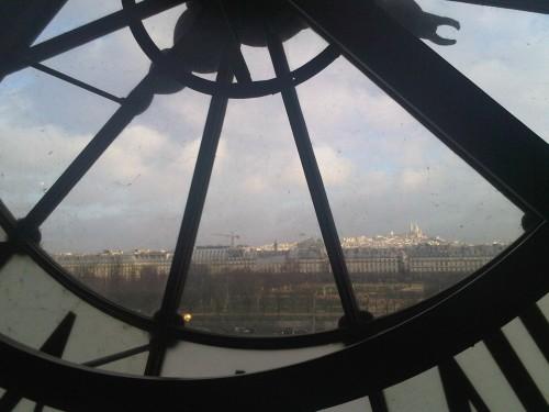 musée d'orsay, horloge