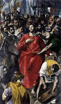 El greco, christ, tunique