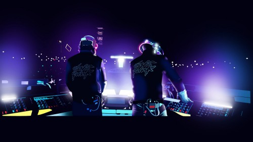 daft punk,play,guitar,guitare