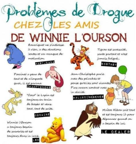addiction, drogue, winnie l'ourson, winnie the poo, winnie
