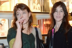 Kate Barry, Jane Birkin, Charlotte Gainsbourg