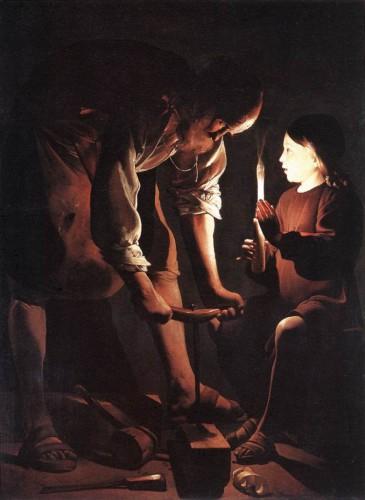 charpentier, joseph, saint joseph, de la tour, george de la tour