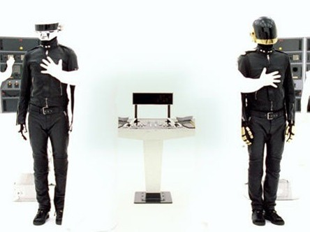 daft punk, game over