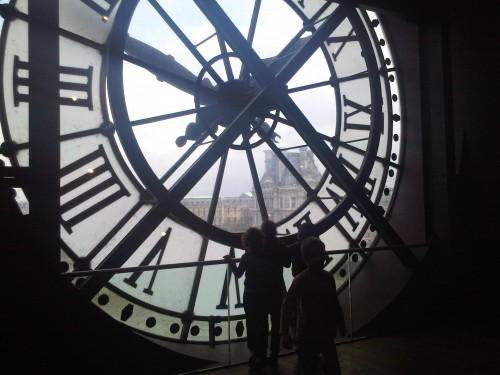 musée d'orsay,horloge,hommage à delacroix,latour,whistler,la mère de l'artiste,nuit étoilée,van gogh