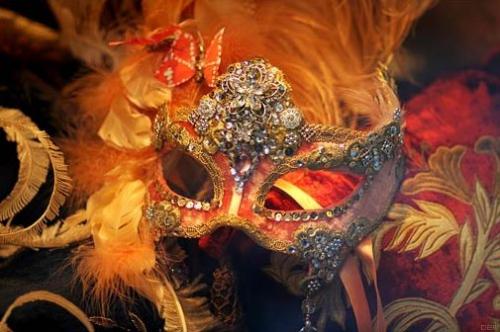 masque, venitien, venise