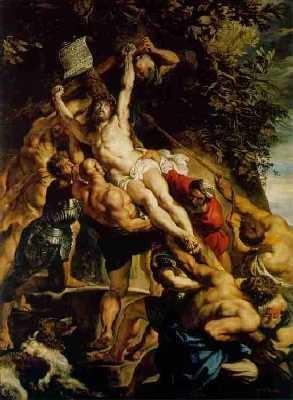 Rubens, l'élévation de la croix