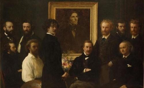 musée d'orsay, horloge, hommage à Delacroix, latour, whistler, la mère de l'artiste, nuit étoilée, van gogh