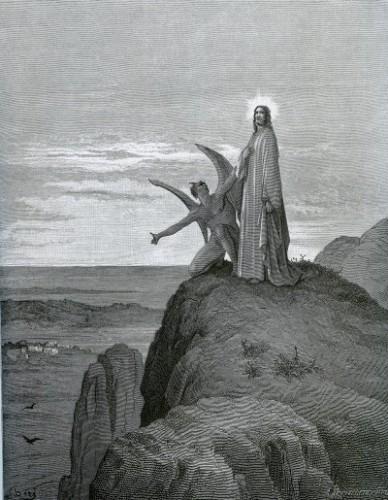 Gustave Doré, la tentation du Christ au déser.jpg