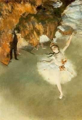 la danseuse étoile, degas