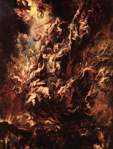 Rubens, la chute des anges rebelles
