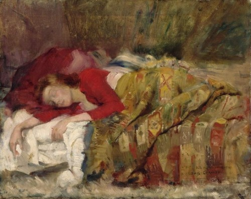 proust,picasso, lovis corinth, sommeil,amour