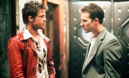 Fight Club, Edward Norton, Brad Bitt, david fincher