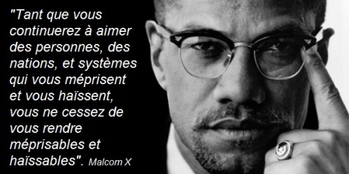 Citation, Malcolm X