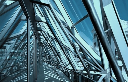 miroir,amer,stéphane zagdanski, architecture
