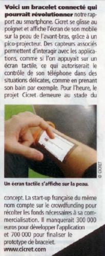 bracelet, projecteur