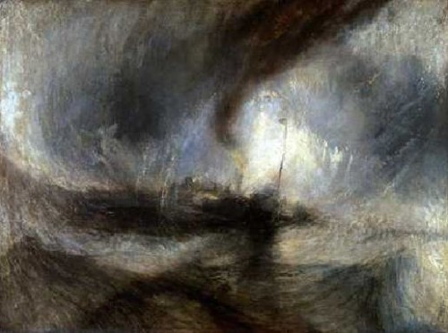 Tempête en mer, William Turner