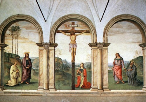 crucifixion, le perugin