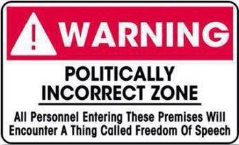politically correct, politically incorrect