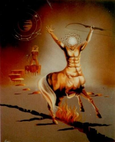 dali, signe astrologique, signe astral, sagittaire