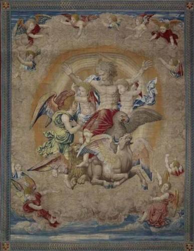 Ezechiel, vision, tapisserie, Atelier Pieter van Aelst, Tommaso Vincidor