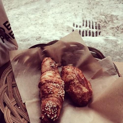 kandalaft, croissant, neige, snow