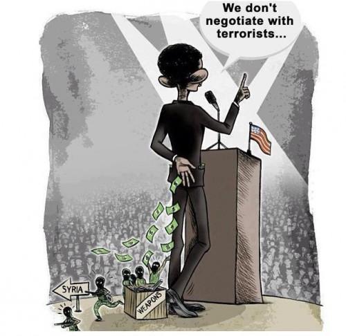 US, politics, terrorisme, negociate, négocier