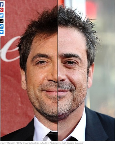ressemblance,similarité,similitude,pareil,sosie, Javier Bardem, Jeffrey Dean Morgan