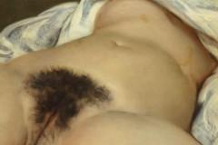 courbet, schubert, musée d'orsay, Deborah de Robertis