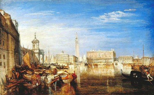 turner, canaletto, poussin, le lorrain