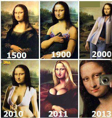 art, evolution, joconde, mona lisa