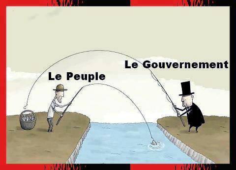 peuple, gouvernement, pêche