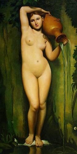 musée d'orsay, la source, jean Auguste