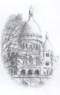 sacré coeur, montmartre, basilique, paris