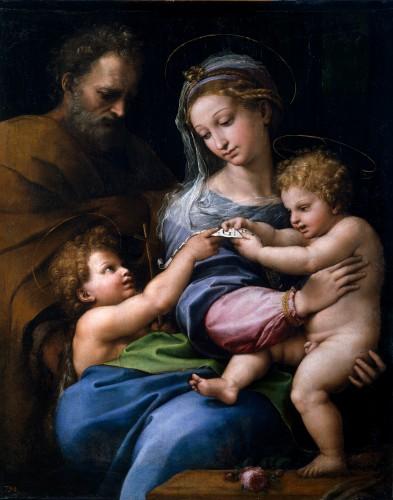 raphael, vierge à la rose, saint joseph, marie, vierge