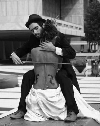 femme, violoncelle