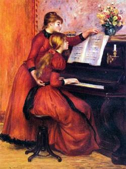 leçon, piano