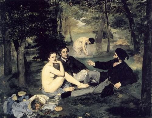 musée d'orsay, monet, manet, les coquelicots, déjeuner sur l'herbe