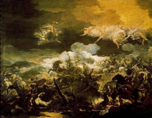 Defeat, death, Sisera, Luca Giordano