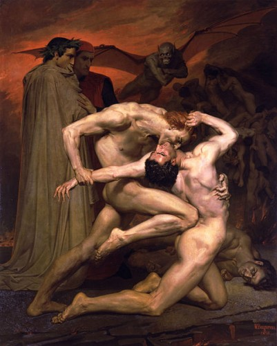 Dante et Virgile visitant l'enfer - William-Adolphe Bouguereau.jpg