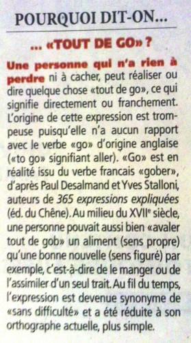 Etymologie - Tout de go.jpg